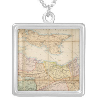 Mackinlay's map of the Province of Nova Scotia Jewelry