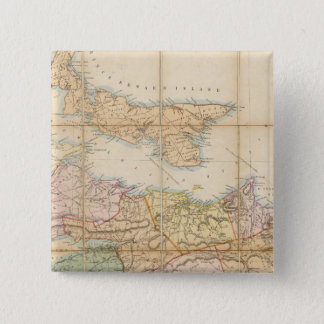 Mackinlay's map of the Province of Nova Scotia Pinback Button