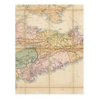 Mackinlay's map of the Province of Nova Scotia Postcard