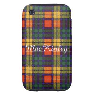 MacKinley clan Plaid Scottish kilt tartan Tough iPhone 3 Case