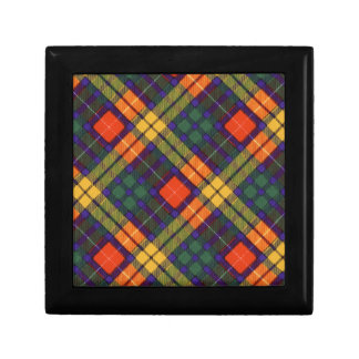 MacKinley clan Plaid Scottish kilt tartan Jewelry Box