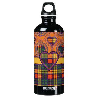 MacKinley clan Plaid Scottish kilt tartan Water Bottle
