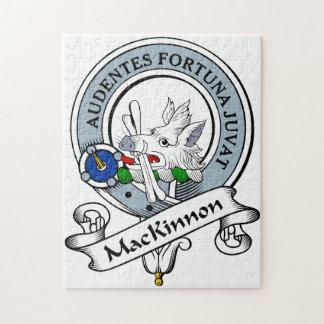 MacKinnon Clan Badge Jigsaw Puzzle
