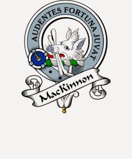 MacKinnon Clan Badge Tee Shirts