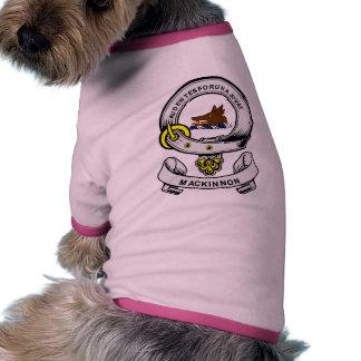 MACKINNON Coat of Arms Dog Tshirt