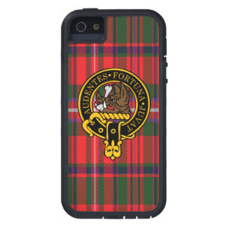 Mackinnon Scottish Crest and Tartan iPhone 5 5S iPhone 5/5S Cover