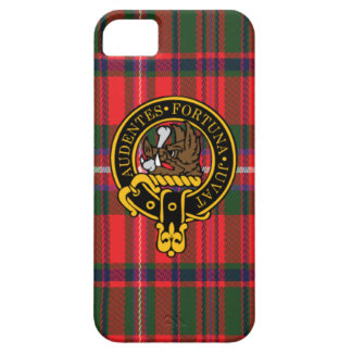 Mackinnon Scottish Crest and Tartan iPhone 5 5S Case For iPhone 5/5S