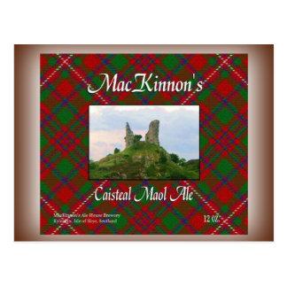 MacKinnon's Caisteal Maol Ale Postcard