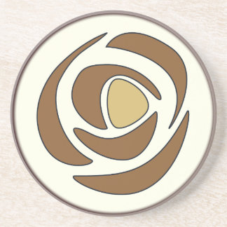 Mackinrose Copper Sandstone Coaster