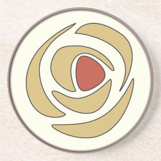 Mackinrose Gold Drink Coaster