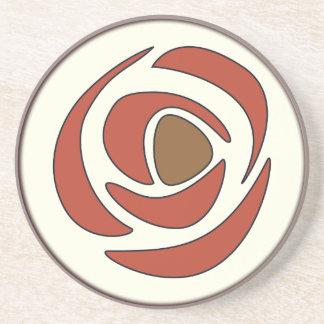 Mackinrose Pomegranate Sandstone Coaster