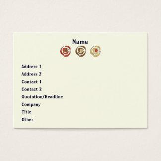 Mackinroses Business Card