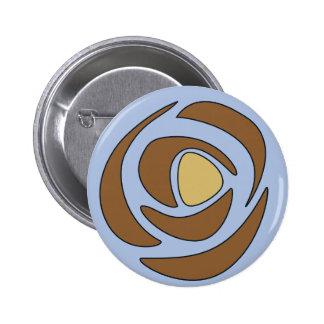 Mackinroses ~ Single Roses Button