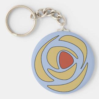Mackinroses ~ Single Roses Keychain