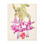 Mackintosh Cactus Flower Canvas Print