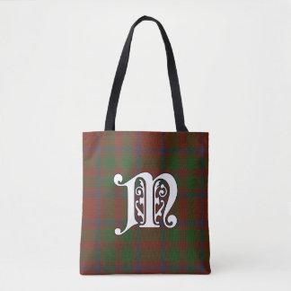 MacKintosh Clan Tartan Monogram Tote Bag