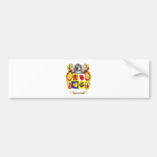 MacKintosh Coat of Arms Family Crest Bumper Stickers