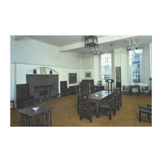 Mackintosh Room Canvas Print