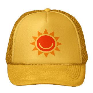 Mackintosh rose motif trucker hat