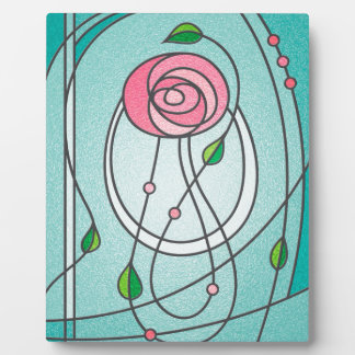 Mackintosh Rose Plaque