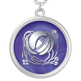 Mackintosh Rose Silver Plated Necklace