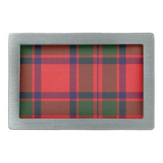 Mackintosh Scottish Tartan Belt Buckle