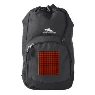 MacKintosh Tartan High Sierra Backpack