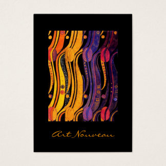 Mackintosh: Tulips Design Business Card