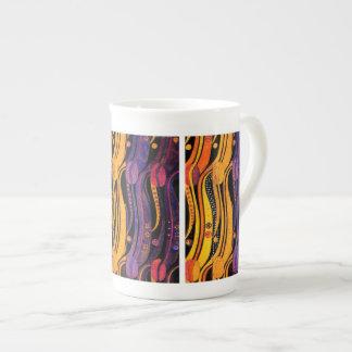 Mackintosh: Tulips Design Tea Cup