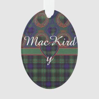 MacKirdy clan Plaid Scottish tartan