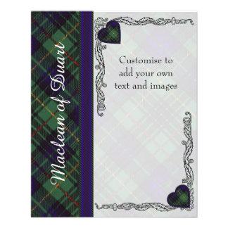 MacKirdy clan Plaid Scottish tartan Flyer