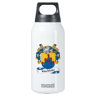 Mackloide Family Crest Insulated Water Bottle