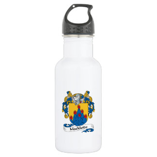 Mackloide Family Crest Water Bottle