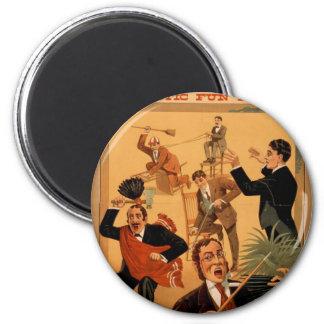 """MacKnight, """"teatro del vintage del fabricante de l Iman De Frigorífico"""