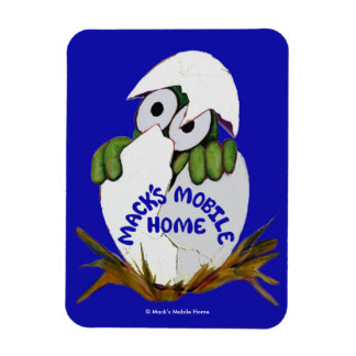 Mack's Mobile Home Photo Magnet