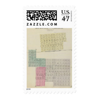 Macksville and Cassaday, Stafford County Postage