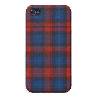 MacLachlan/caso del iPhone 4/4S del tartán de iPhone 4/4S Fundas