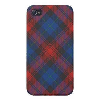 MacLachlan/caso del iPhone 4/4S del tartán de iPhone 4 Protector