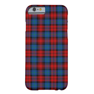 MacLachlan Clan Red and Royal Blue Tartan Barely There iPhone 6 Case