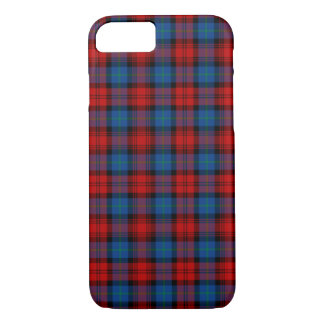 MacLachlan Clan Red and Royal Blue Tartan iPhone 8/7 Case