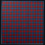 """MacLachlan Clan Royal Blue and Red Scottish Tartan Napkin<br><div class=""""desc"""">Cloth napkins with the family tartan for Clan MacLachlan and its septs,  including Ewing and Gilchrist. Vintage Scottish plaid pattern dated to 1831 in bright red and royal blue,  with black and green accents. Choose from two sizes. Matching table runner available.</div>"""