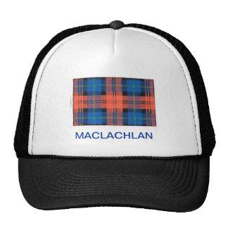 MACLACHLAN FAMILY TARTAN TRUCKER HAT