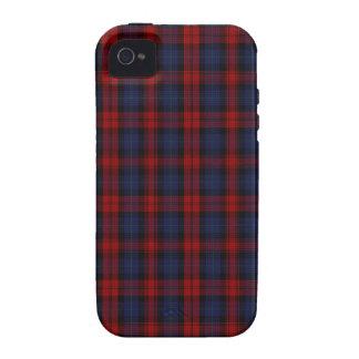 MacLachlan/tartán del clan de McLaughlin Case-Mate iPhone 4 Carcasa