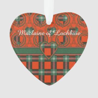 Maclaine del tartán del escocés de la tela