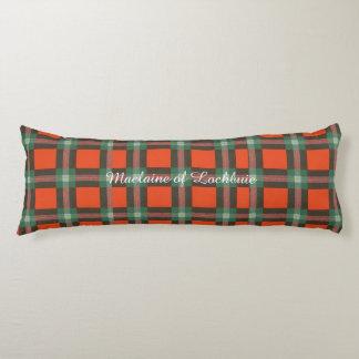 Maclaine del tartán del escocés de la tela almohada