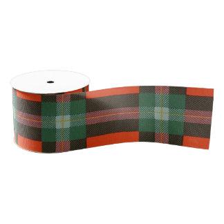 Maclaine del tartán del escocés de la tela lazo de tela gruesa