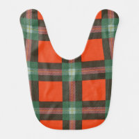 Maclaine of Lochbuie clan Plaid Scottish tartan Bib