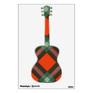 Maclaine of Lochbuie clan Plaid Scottish tartan Wall Sticker