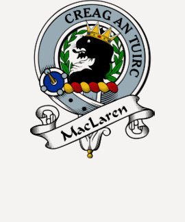 MacLaren Clan Badge T Shirts