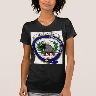 MacLaren Clan Badge Tshirt